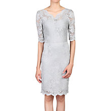 Buy Jolie Moi Scalloped V-Neck Lace Dress Online at johnlewis.com