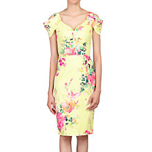 Buy Jolie Moi Floral Print Cold Shoulder Structured Dress Online at johnlewis.com