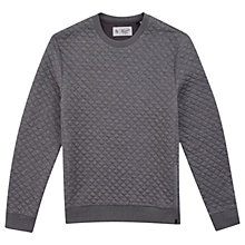 Buy Original Penguin Quilted Sweatshirt, Griffin Online at johnlewis.com
