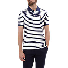Buy Lyle & Scott Breton Polo Top, Off White Online at johnlewis.com