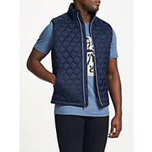 Buy Original Penguin Lightweight Gilet, Dark Sapphire Online at johnlewis.com