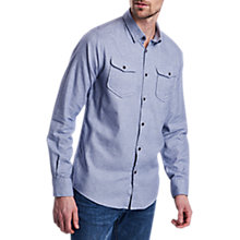 Buy Barbour International Alinator Long Sleeve Shirt, Chambray Online at johnlewis.com