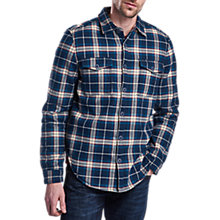 Buy Barbour International Claude Overshirt, Navy Online at johnlewis.com