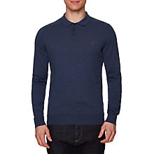 Buy Original Penguin Supima Cotton Polo Top, Vintage Indigo Heather Online at johnlewis.com