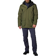 Buy Helly Hansen Killarney Waterproof Men's Parka Jacket, Ivy Green Online at johnlewis.com