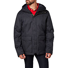 Buy Helly Hansen Brage Waterproof Men's Parka Jacket, Black Online at johnlewis.com