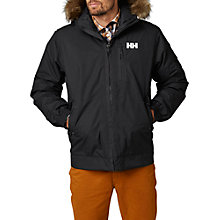 Buy Helly Hansen Dubliner Insulated Men's Bomber Jacket, Black Online at johnlewis.com