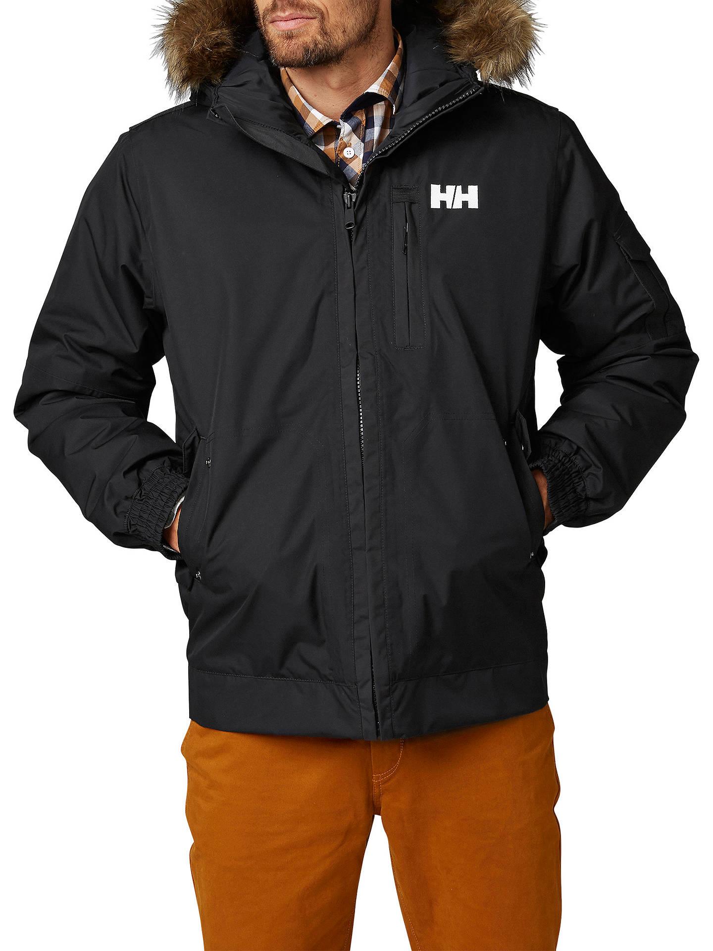 super service neu kommen an Geschicktes Design Helly Hansen Dubliner Insulated Men's Bomber Jacket, Black ...