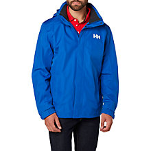Buy Helly Hansen Dubliner Waterproof Men's Jacket, Blue Online at johnlewis.com