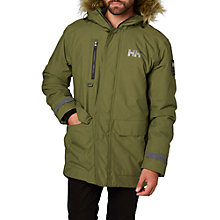 Buy Helly Hansen Svalbard Waterproof Parka Jacket, Green Online at johnlewis.com
