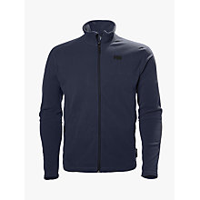 Buy Helly Hansen Daybreaker Full-Zip Men's Fleece Jacket, Blue Online at johnlewis.com