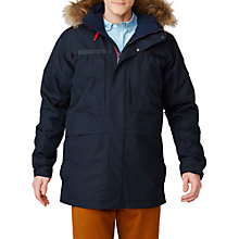 Buy Helly Hansen Coastal 2 Waterproof Men's Parka Jacket, Navy Online at johnlewis.com