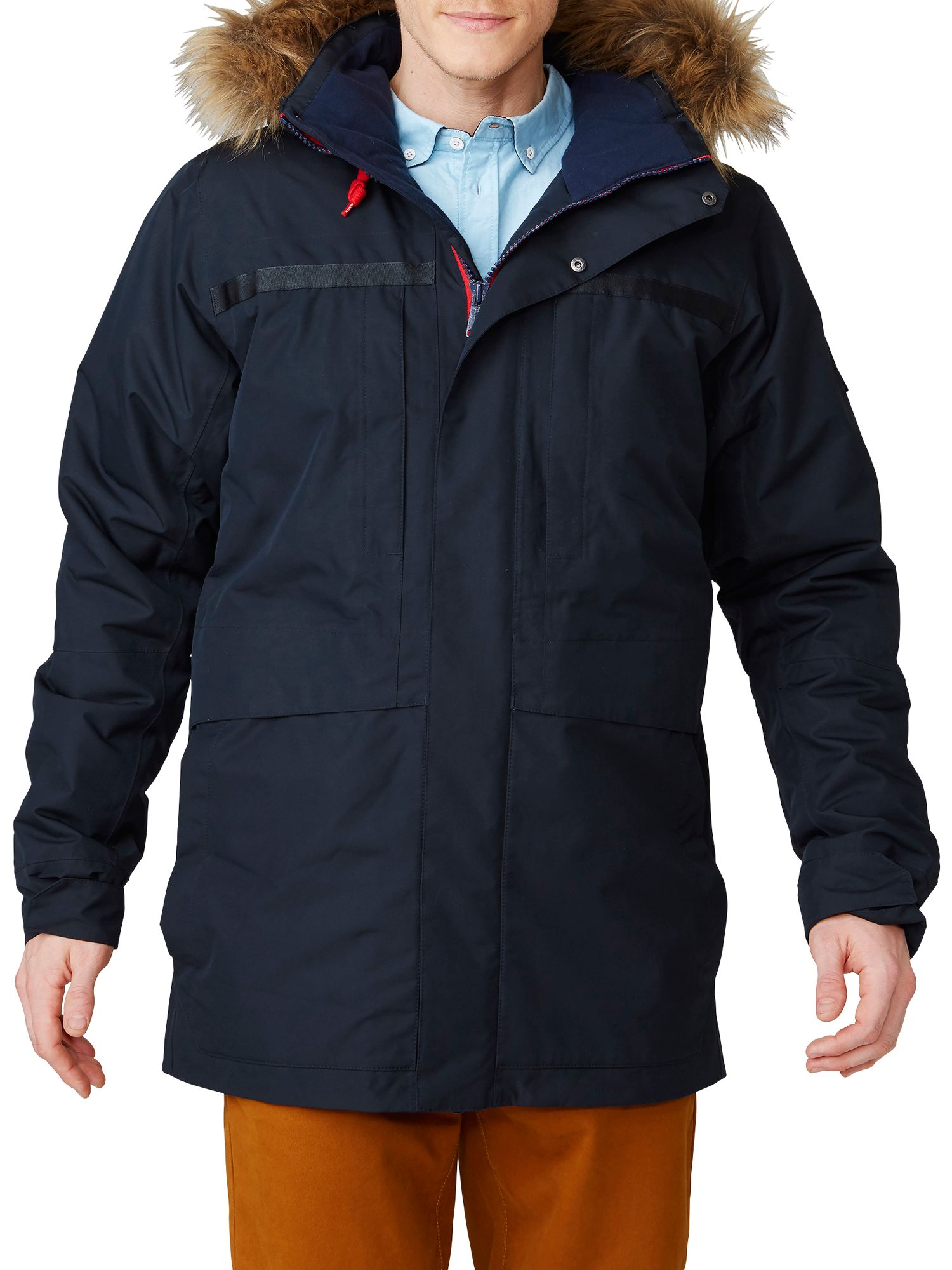 Helly Hansen Helly Hansen Coastal 2 Waterproof Men's Parka Jacket, Navy