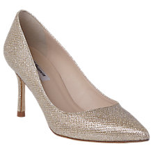 Buy L.K. Bennett Bianca Pointed Toe Court Shoes, Champagne Online at johnlewis.com
