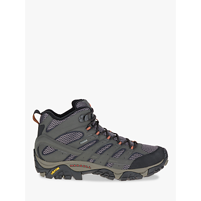 Image of Merrell MOAB 2 Mid GORE-TEX Men's Hiking Boots, Beluga