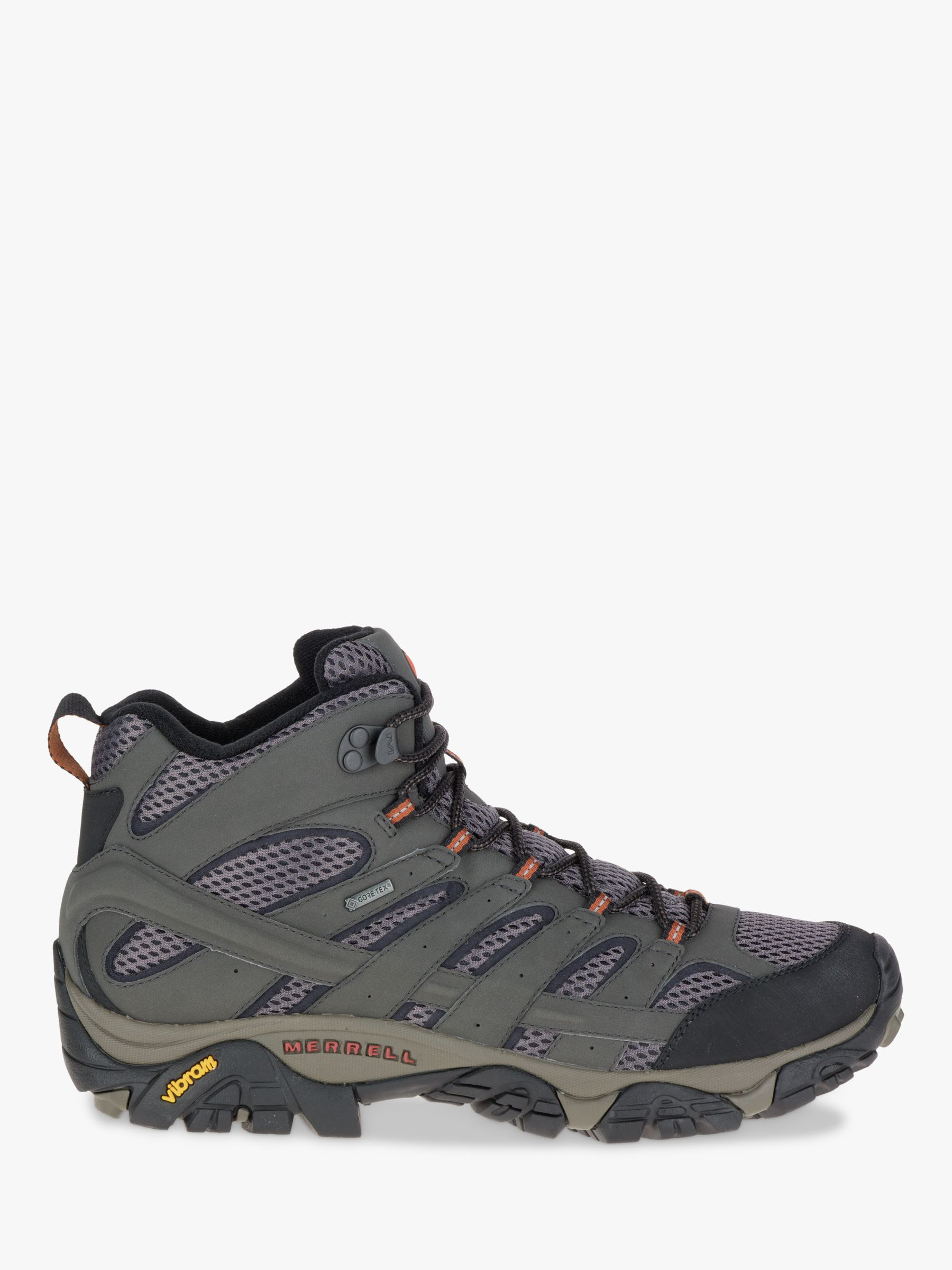 Merrell Merrell MOAB 2 Mid Men's Waterproof Gore-Tex Hiking Boots, Beluga