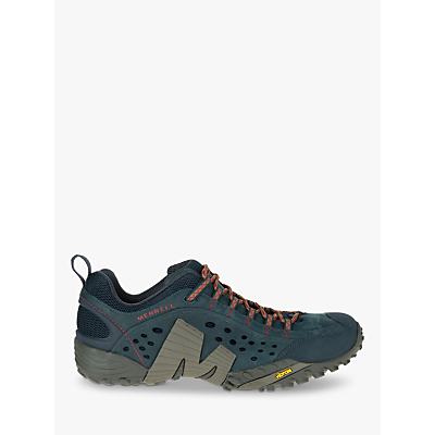 Merrell Intercept Leather Walking Shoes, Blue Wing