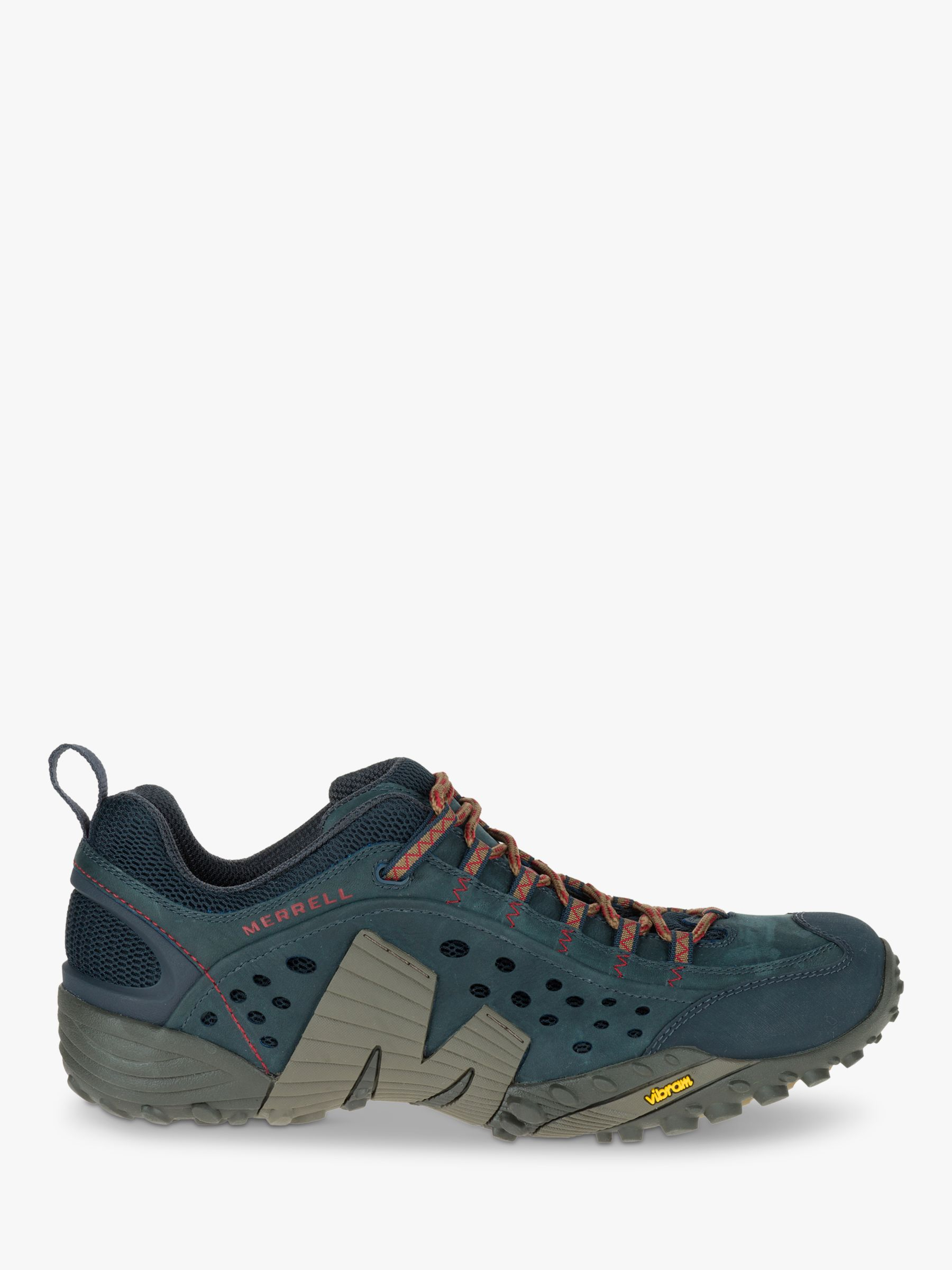 Merrell Merrell Intercept Men's Leather Walking Shoes, Blue Wing