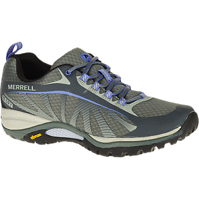 Merrell Siren Edge Waterproof Women's Walking Shoes, Monument