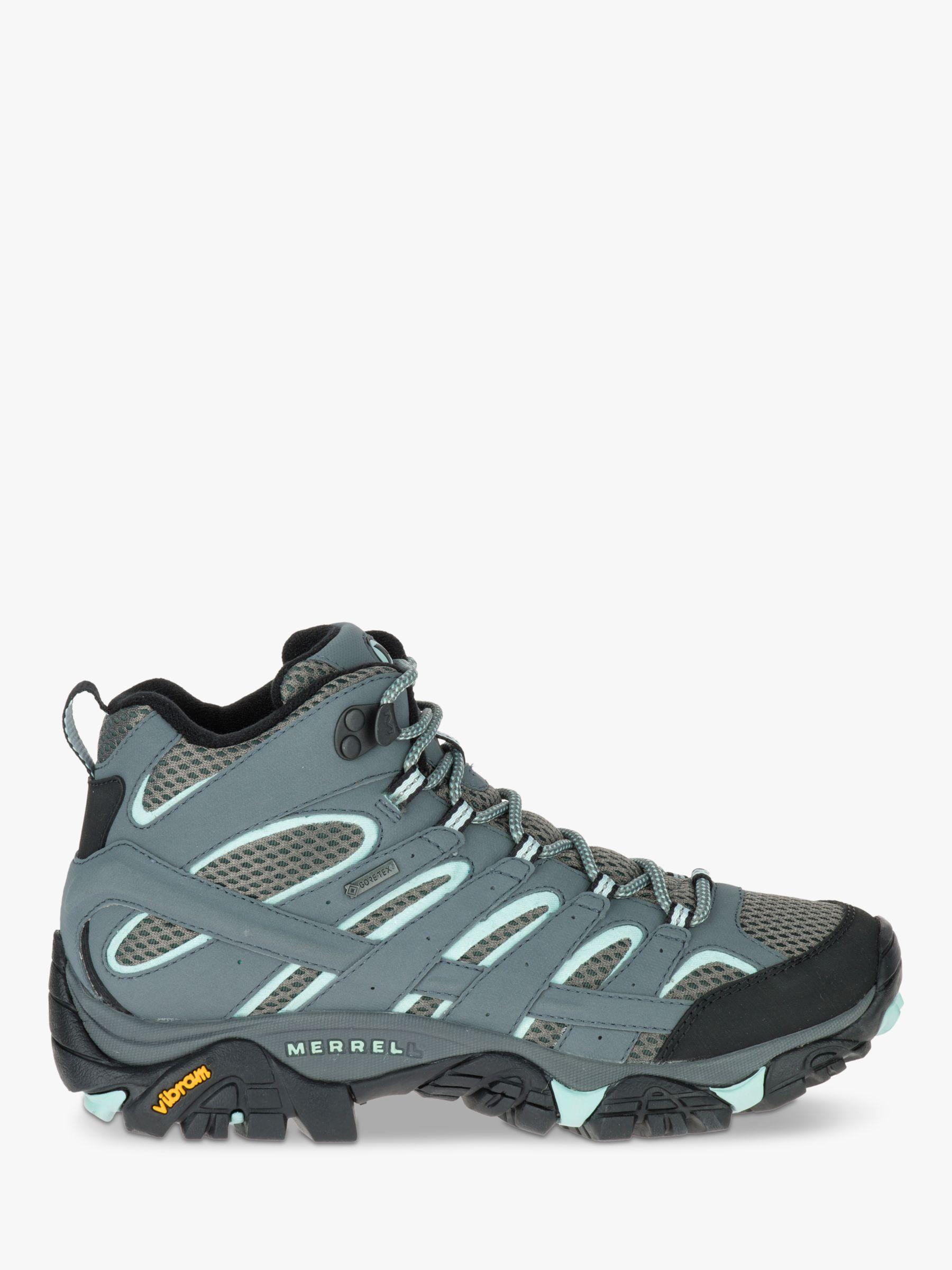 Merrell Merrell MOAB 2 Mid Women's Waterproof Gore-Tex Hiking Boots, Sage
