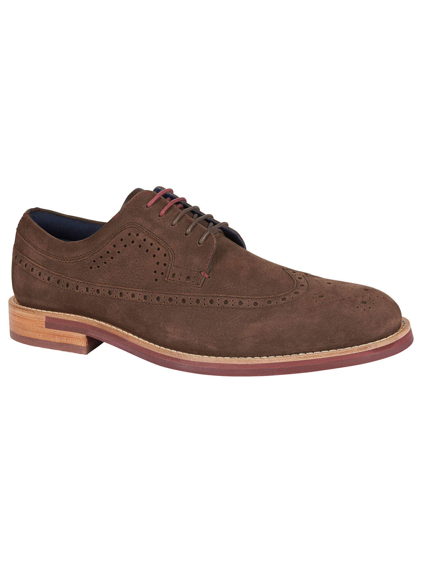 3de564c55744 Ted Baker Fanngo Derby Brogues at John Lewis   Partners