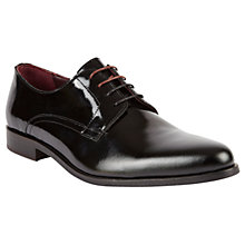 Buy Ted Baker Aundre Derby Shoes, Black Online at johnlewis.com