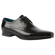 Buy Ted Baker Teibor Derby Shoes, Black Online at johnlewis.com