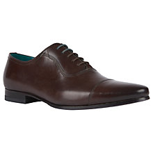 Buy Ted Baker Spiroe Glossby Brown Shoes, Brown Online at johnlewis.com