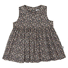 Buy Wheat Baby Floral Pini All-Over Print Dress, Navy Online at johnlewis.com