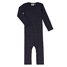 Buy Wheat Baby Star Romper, Navy Online at johnlewis.com