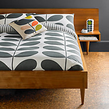 Buy Orla Kiely Giant Stem Flannelette Cotton Bedding Online at johnlewis.com
