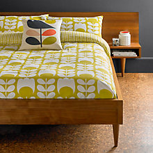 Buy Orla Kiely Tulip Cotton Flannelette Bedding Online at johnlewis.com