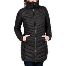 Buy Jack Wolfskin Richmond Windproof Women's Coat, Black Online at johnlewis.com