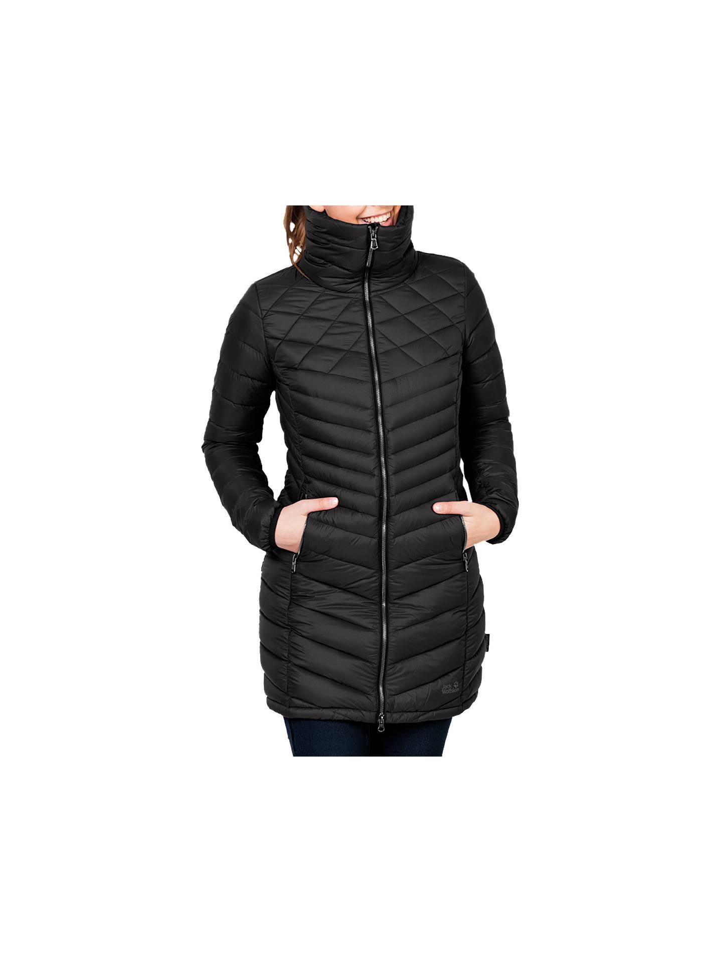 70eeabe499 Buy Jack Wolfskin Richmond Windproof Women's Coat, Black, XS Online at  johnlewis. ...