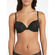Buy Calvin Klein Underwear Sculpted T-Shirt Bra, Black Online at johnlewis.com