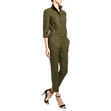 Buy Winser London Cotton Twill Utility Jumpsuit Online at johnlewis.com