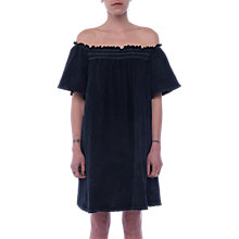 Buy French Connection Chisulo Off Shoulder Dress, Indigo Wash Look Online at johnlewis.com