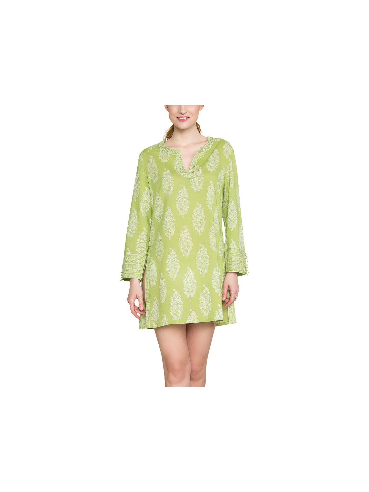 7d8d5d949ff View All Women's Shirts & Tops. Previous Image Next Image. Buy East Anokhi  Bamzai Kurta Tunic, Kiwi, 10 Online at johnlewis.com ...