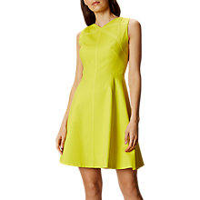 Buy Karen Millen Cotton Colour Pop Dress, Lime Online at johnlewis.com