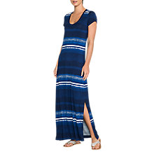 Buy East Ombre Jersey Maxi Dress, Ocean Online at johnlewis.com