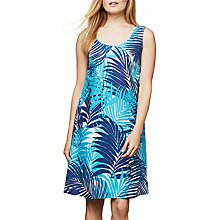 Buy East Palm Print Linen Dress, Softink Online at johnlewis.com
