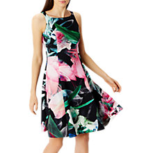 Buy Coast Flamenco Fit And Flare Dress, Multi Online at johnlewis.com