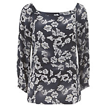 Buy Mint Velvet Cecilia Print Cowl Back Blouse, Multi Online at johnlewis.com