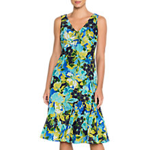 Buy East Alanis Print Cotton Dress, Kiwi Online at johnlewis.com