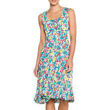 Buy East Tallulah Pleat Dress, Lime Online at johnlewis.com