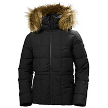 Buy Helly Hansen Blume Puffy Women's Waterproof Parka Jacket, Black Online at johnlewis.com