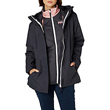 Buy Helly Hansen Squamish CIS Waterproof Women's Jacket, Graphite Blue Online at johnlewis.com