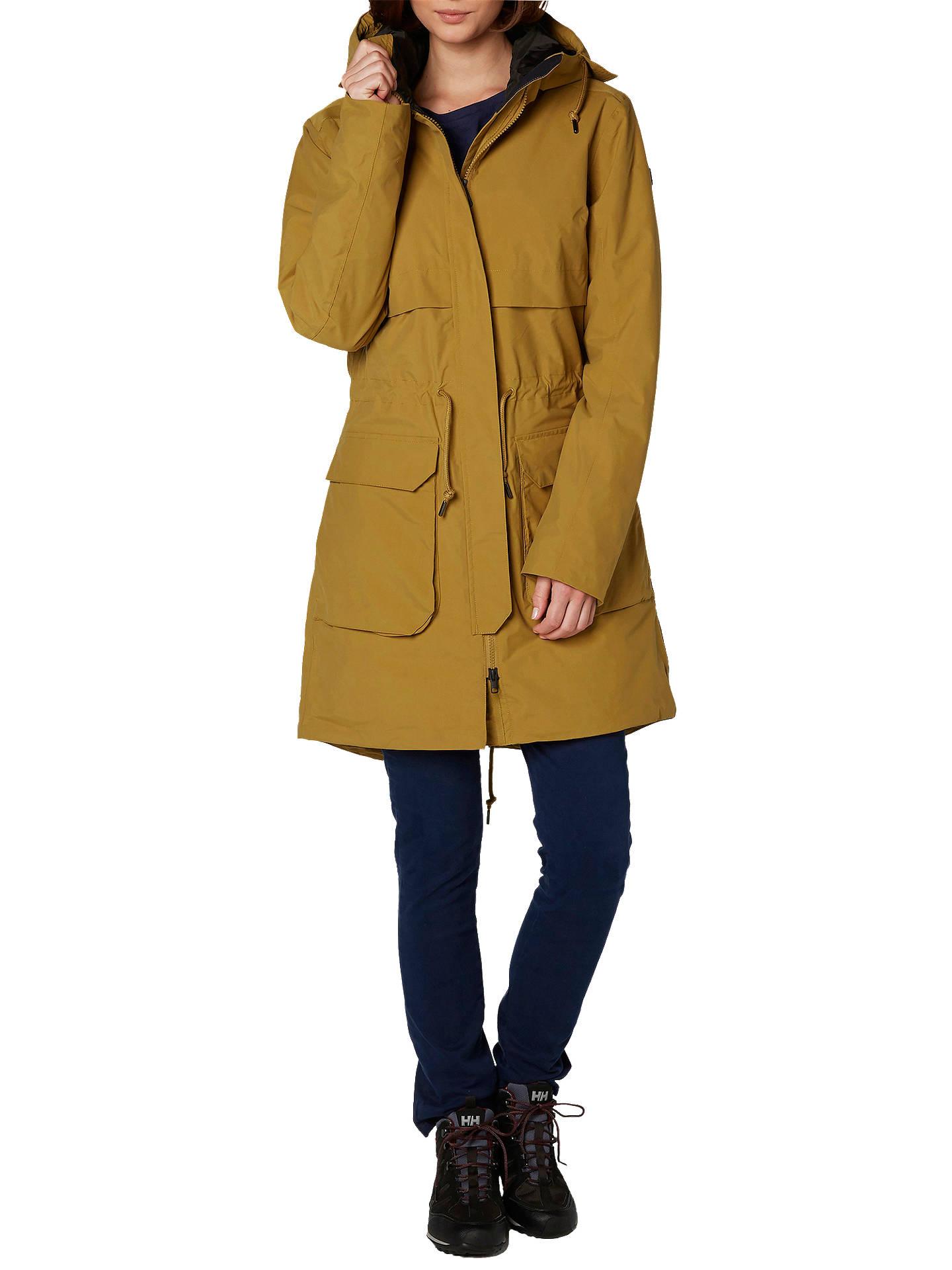 7329b530ad16d Buy Helly Hansen Boyne Waterproof Women's Parka Jacket, Brown, S Online at  johnlewis.