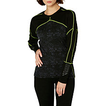 Buy Helly Hansen Lifa Merino Mix Base Layer Crew Top, Black Online at johnlewis.com