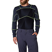 Buy Helly Hansen Lifa Merino Mix Base Layer Crew Top, Blue Online at johnlewis.com